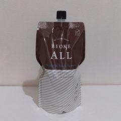 ビーワンオール 560ml ¥7700 1000ml ¥12100 税込 全身用化粧水。すべての薬剤を有効に活かし、働きをより増幅します。生体融合型光触媒「トリニティ」と「ビーワン」が融合し誕生しました。ビーワン水の効果が加速します。シルクのお肌を体験下さい。